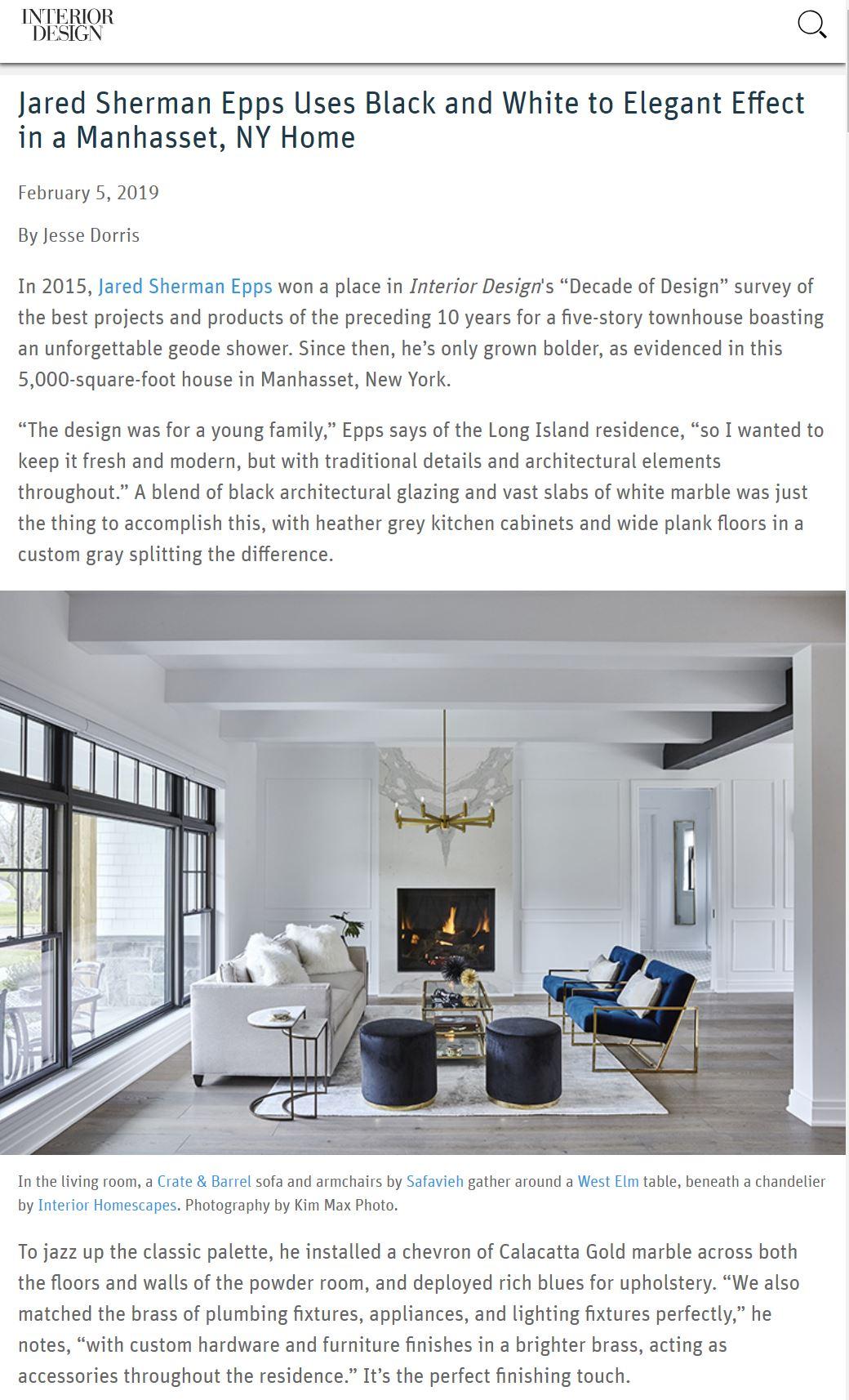 New York Interior Design For Luxury Spaces Jse Design